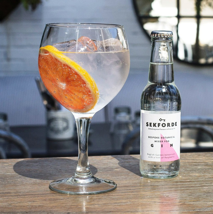Sekforde drinks challenges dominance of the g t shiel porter for Best mixers for gin