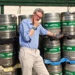 Rupert Thompson Hogs Back Brewery World Cup pint