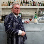 Fergus Henderson enjoys a Fernet-Branca. Photo by Sam A. Harris