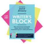 Writer's Block brewed at the Bell Street Brewery
