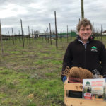 Hop giveaway marks relaunch of Surrey Nirvana Session IPA -Matthew King, Hogs Back's hop garden manager, assembling the Cascade hop growing kits to send to pubs