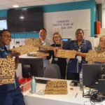 Pizza delivery to St Thomas Hospital using Toggle gift card