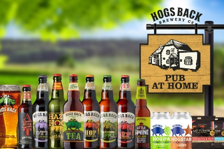 Hogs Back Brewery's Pub at Home for Father's Day