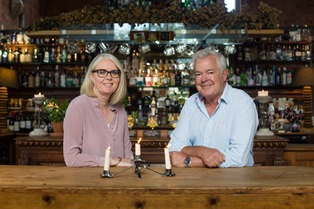 Mary McLaughlin & Tim Bird, founders of Cheshire Cat Pubs