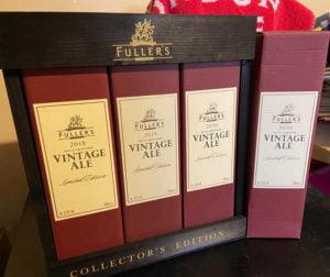 Fuller's Vintage Ale 2020 gift pack
