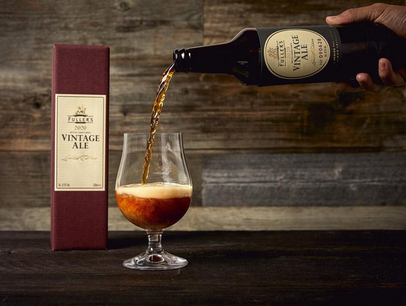 Fuller's Vintage Ale 2020 pour