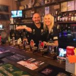 David & Kathryn Boam of the Dog & Parrot in Eastwood, near Nottingham