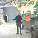 Rupert Thompson, Hogs Back Brewery managing director, in the Hop Hangar