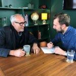 Hospitality Mavericks podcast Bill Collison, left) and host Michael Tingsager