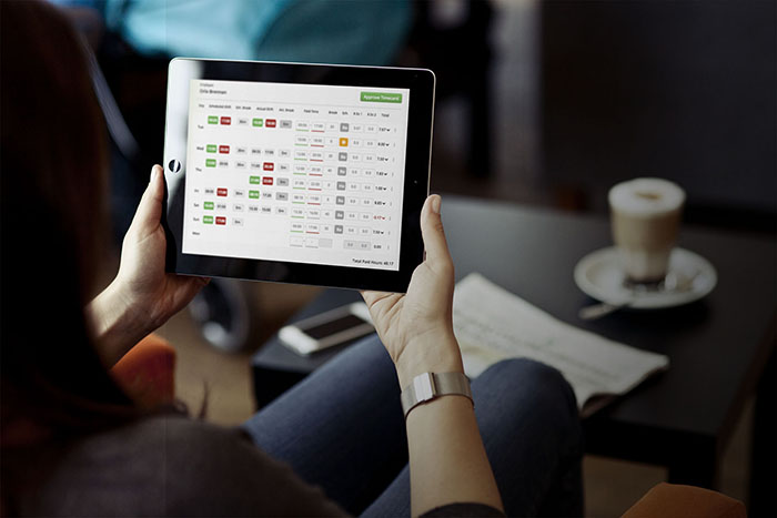Bizimply iPad scheduling